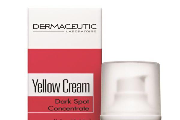 Dermaceutic Yellow Cream cildin genel görünümünü destekliyor
