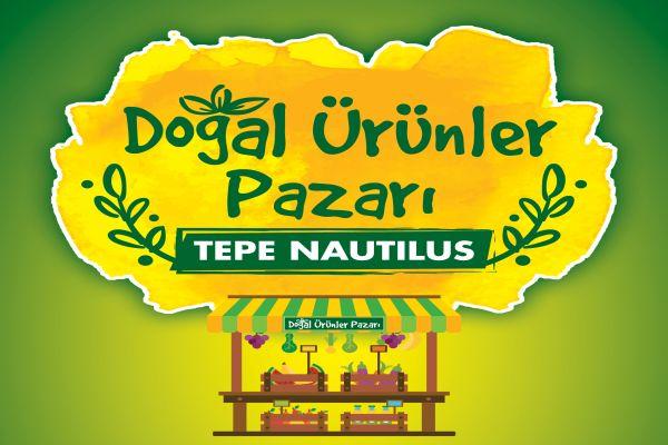 Doğal ürünler pazarı Tepe Nautilus'ta açılıyor