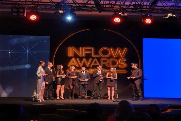 Prima ve Orkid'e Inflow töreninde iki ödül verildi