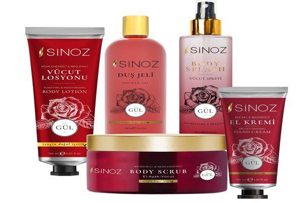 Sinoz Kozmetik yeni yıl hediye setleri sunuyor