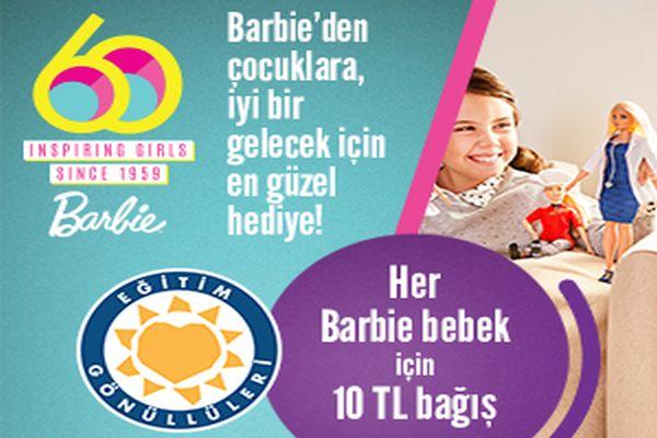 Barbie kariyer bebeklerinden çocukların eğitime katkı sağlayacak