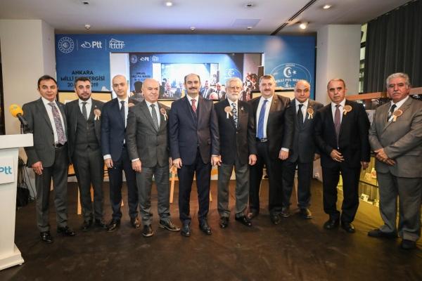 Atatürk'ün Ankara'ya gelişi anısına özel pul sergisi ziyaretçilere açıldı
