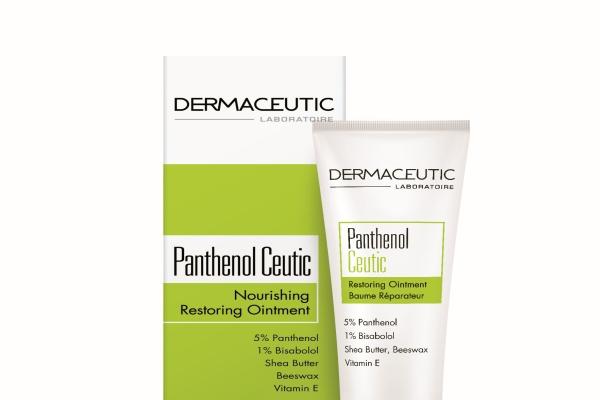 Dermaceutic Panthenol Ceutic yapılandırıcı ve onarıcı kremi çıktı