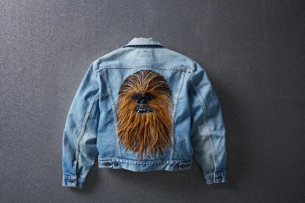 Levi's Authorized Vintage Chewbacca Trucker ceketlerini sunar