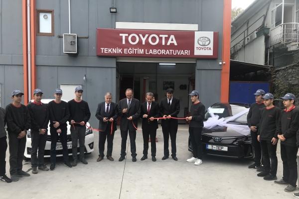 Toyota Otomotiv Sanayi Türkiye eğitime destek