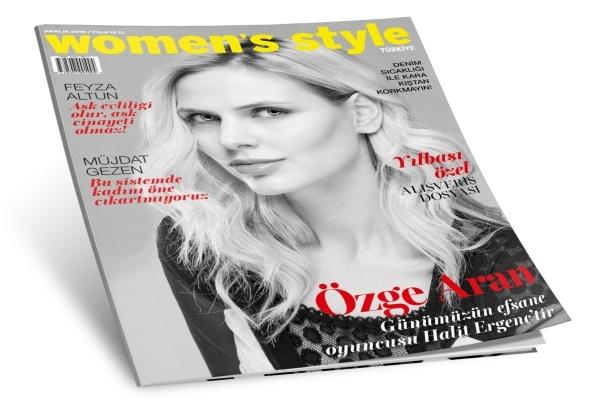 Women's Style Türkiye Aralık sayısı bayilerde ve Turkcell Dergilik'te!