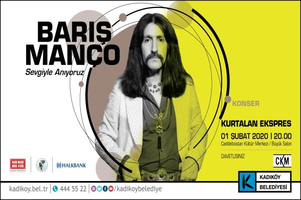 Barış Manço Kadıköy'de anılıyor