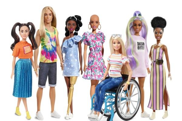 Barbie'nin Fashionistas serisi çıktı