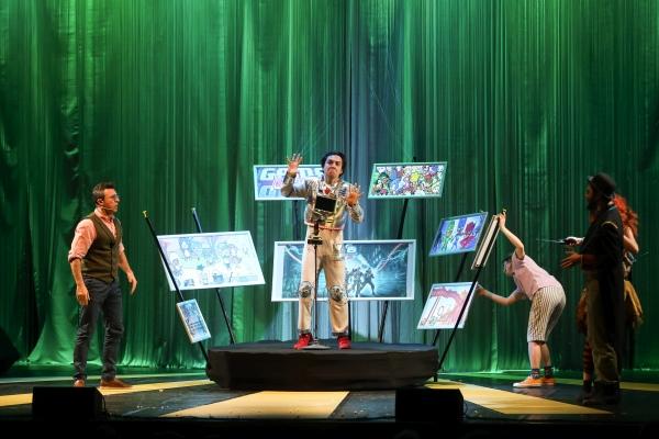 Robot Pinokyo İş Sanat'ta çocuklarla buluştu