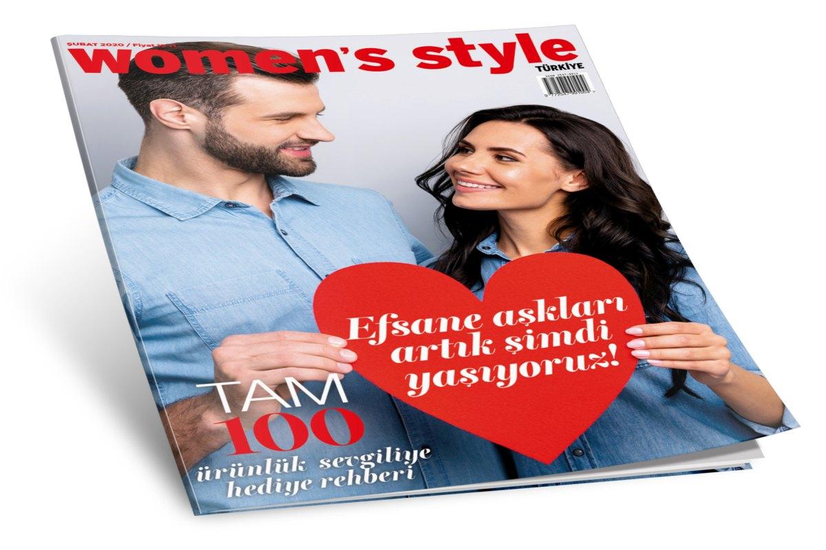 Women's Style Türkiye Şubat altın sayısı bayilerde ve Turkcell Dergilik'te!