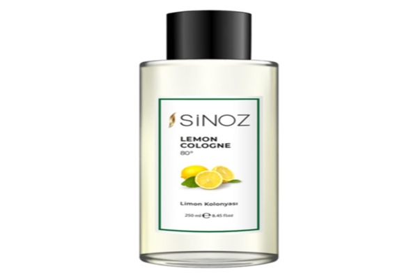 Sinoz 80° Limon Kolonyası ile bakım ve temizlik bir arada sunuyor