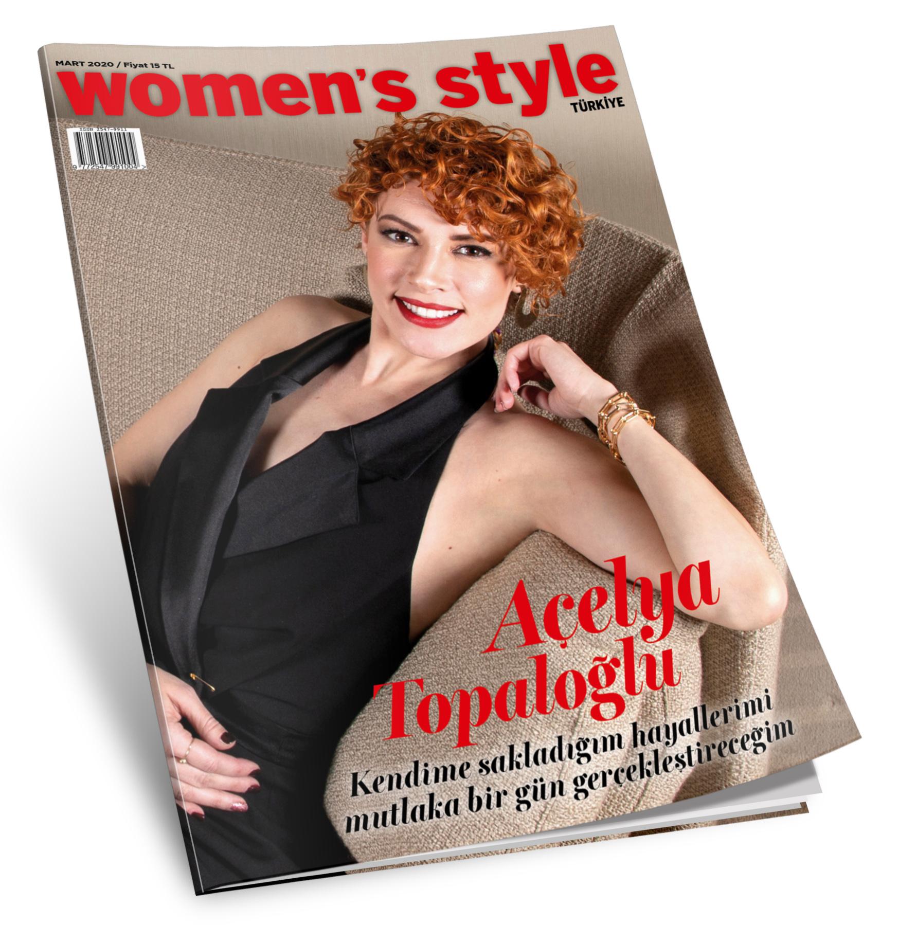 Women's Style Türkiye Mart altın sayısı bayilerde ve Turkcell Dergilik'te!