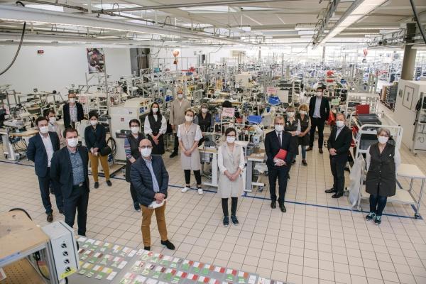 Louis Vuitton, Fransa'daki atölyelerini maske üretimi için açtı
