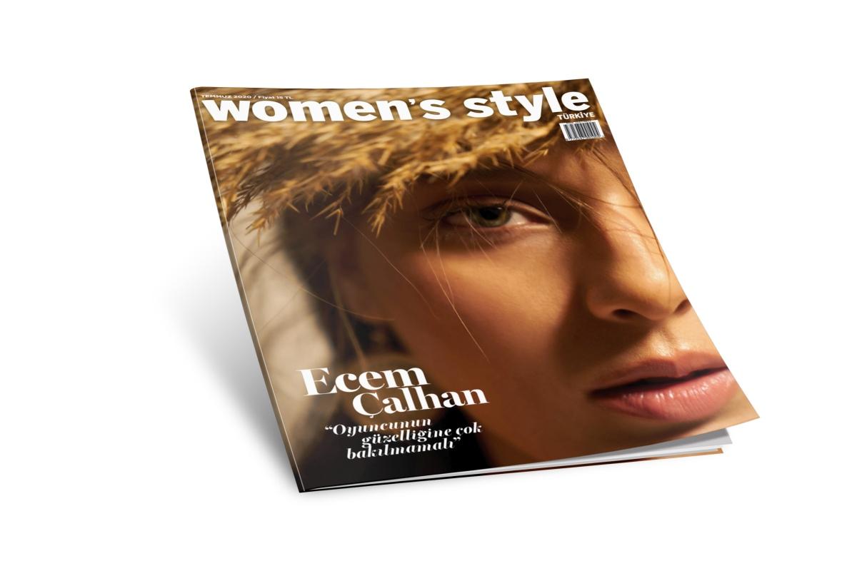Ecem Çalhan Women's Style Türkiye Dergisi Röportaj