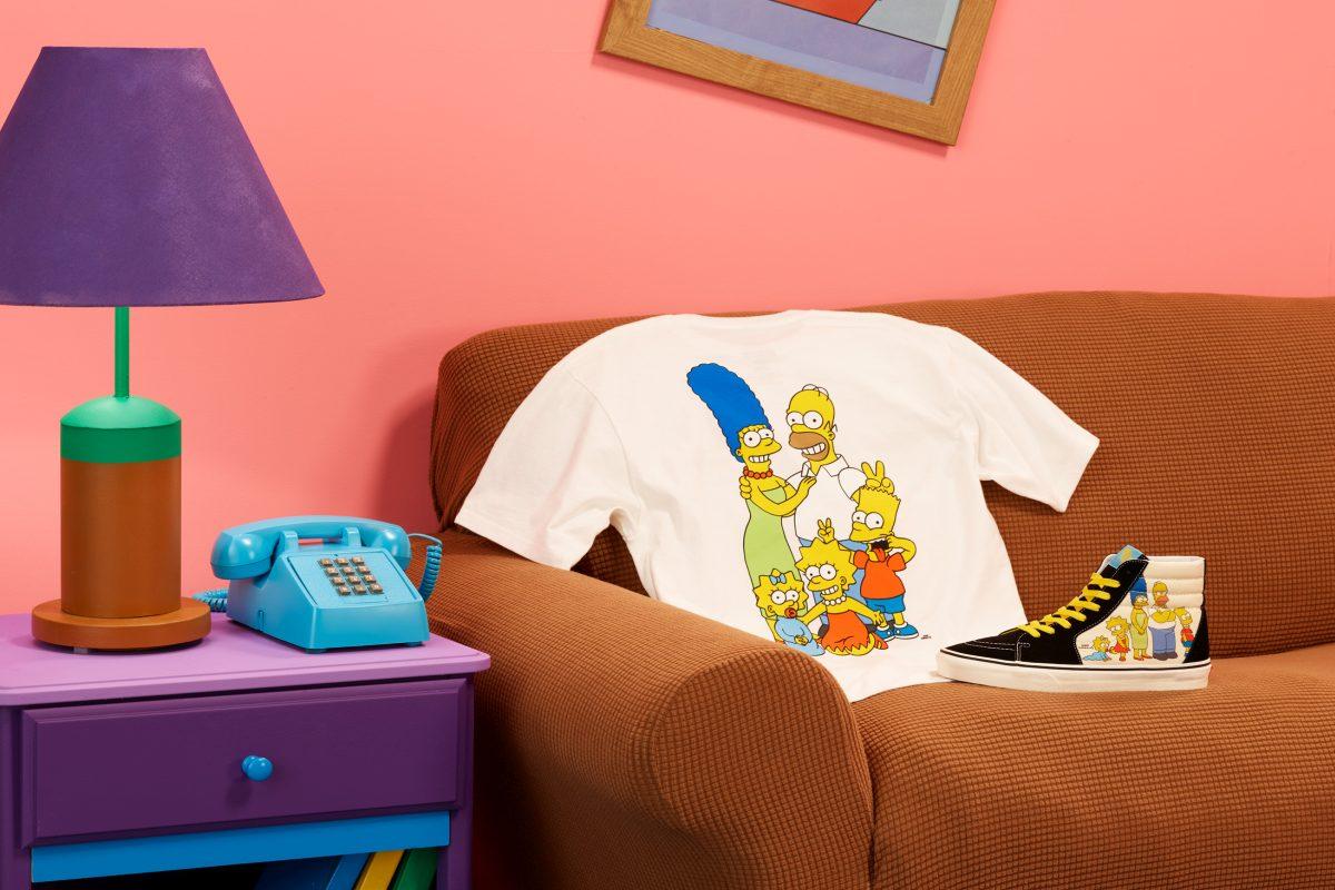 Vans The Simpsons'ı onurlandırıyor