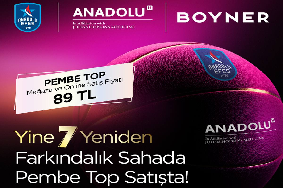 """Boyner """"Pembe Top Sahada"""" projesine destek veriyor"""