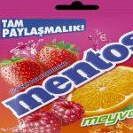 Mentos artık büyük paketiyle raflarda yerini aldı