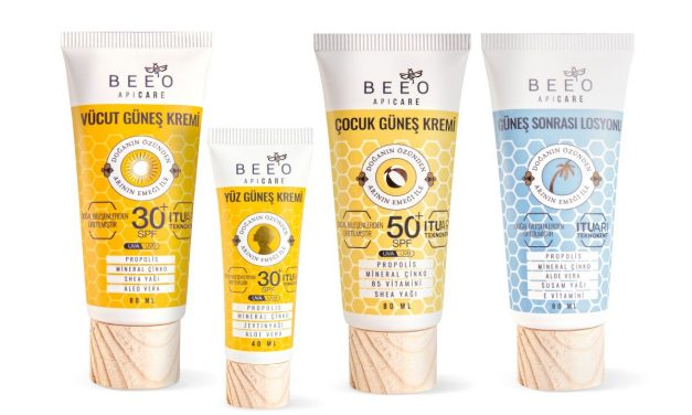 BEE'O Propolis, güneş kremi serisi güneşin zararlı etkilerinden koruyor