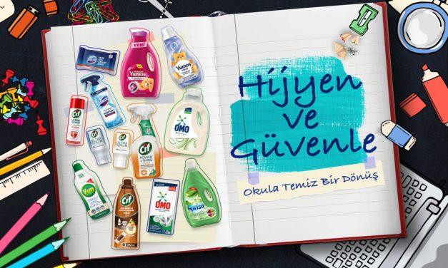 """Unilever'ın """"hijyen ve güvenle okula temiz bir dönüş"""" kampanyası devam ediyor"""